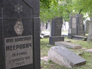 The Jewish cemetery in Harbin; photo Pierre Haski.