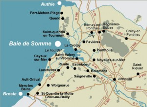 Noyelles carte Somme