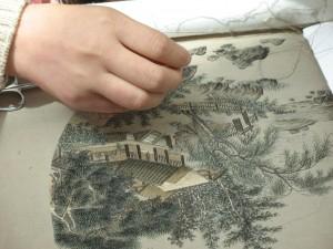 Gu embroidery